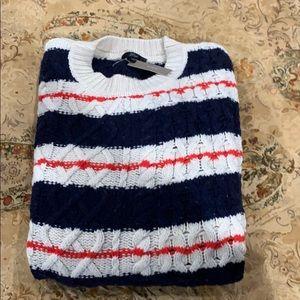 J crew classic fisherman cable knit sweater. W-Xl